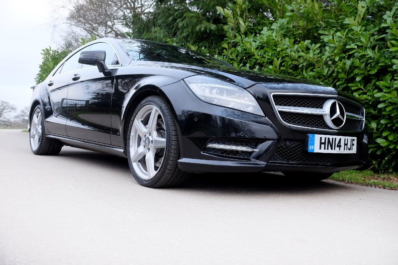 MERCEDES CLS CLS350 CDi BlueEfficiency 7G-Tronic Auto CLS 350 AMG Sport 2014
